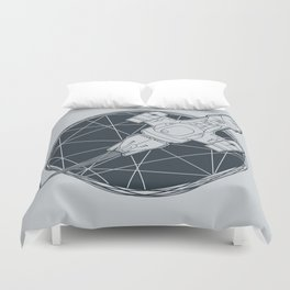 Shining star Duvet Cover