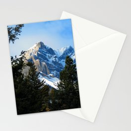 Snowy Peak Stationery Cards