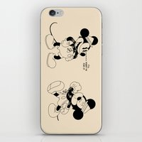 snatch iPhone & iPod Skins featuring Mickey O'Neil by Woah Jonny
