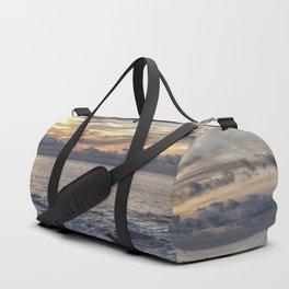 Sunset at Flat rocks Gloucester MA 7-21-18 Duffle Bag