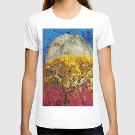 Flavo luna in ligno T-shirt
