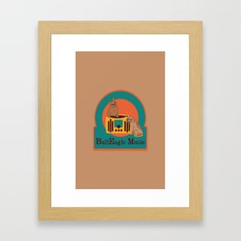 BullEagle Music Framed Art Print