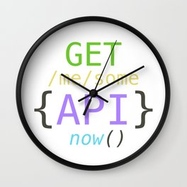 GET me some apis now Wall Clock