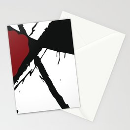 minima linea - thick Stationery Cards