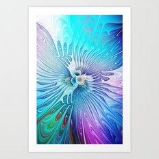 Cool Beauty Art Print