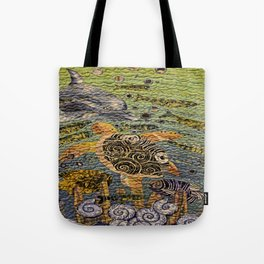 Fish Of The Sea Tote Bag