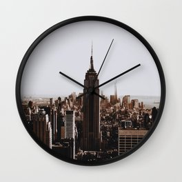 Rockefeller Center / New York City Wall Clock