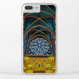 Ste Chapelle Clear iPhone Case