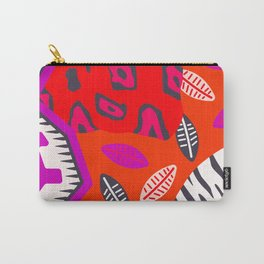modern animal print ii Carry-All Pouch