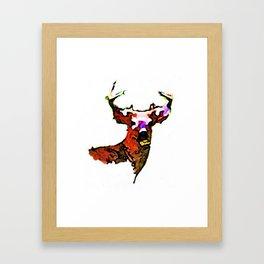 Dear. Deer.  Framed Art Print