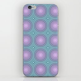 Candy illusion mandala iPhone Skin