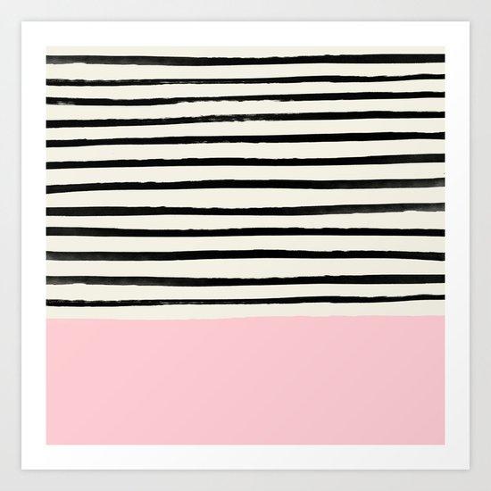 Millennial Pink x Stripes by floresimagespdx