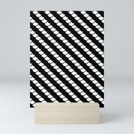 Spinal Stripes Mini Art Print
