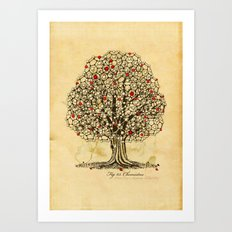 Chemistree Art Print