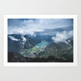 Alpine Lake // Landscape Photography Art Print