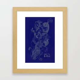 'The Slayer' by Kevin C. Steele  Framed Art Print
