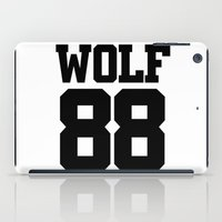 exo iPad Cases featuring EXO WOLF 88 by Cathy Tan