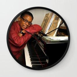 Herbie Hancock - Black Culture - Black History Wall Clock