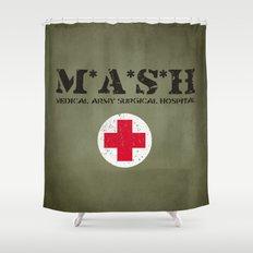 MASH Shower Curtain