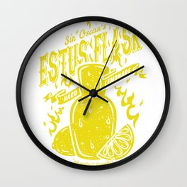 Estus flask Lemon Wall Clock