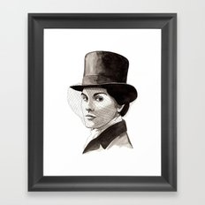 Lady Mary Framed Art Print