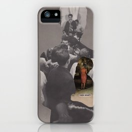 I never learned how to grieve and now that I need to I feel so lost...what do I do? iPhone Case