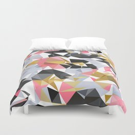 Cool geometric abstract pattern Duvet Cover