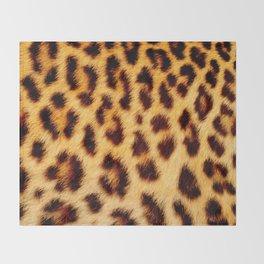 Leopard skin pattern Throw Blanket