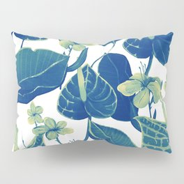 pure blue nature Pillow Sham