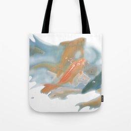 koi {white} Tote Bag