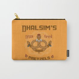 Street Vendor 2- Dhalsim's yoga fired Pretzels Carry-All Pouch