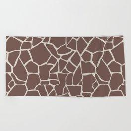 Brown Elephant Beach Towel
