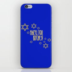 You go, girl! (blue) iPhone & iPod Skin