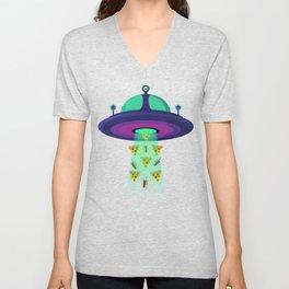 Alien Munchies Unisex V-Neck
