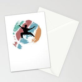 Kungfu gift for Martial Arts Fans Stationery Cards