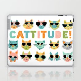 Cattitude Laptop & iPad Skin