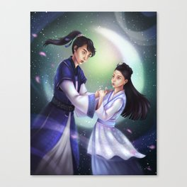 moon lovers -- the stars of goryeo Canvas Print