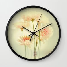 Flower series! Pretty in Pink Wall Clock