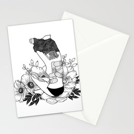 I'm not mad, I'm hurt Stationery Cards
