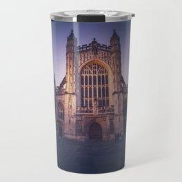 Bath Abbey at Night Travel Mug