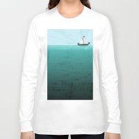 sail Long Sleeve T-shirts featuring Sail by Kakel