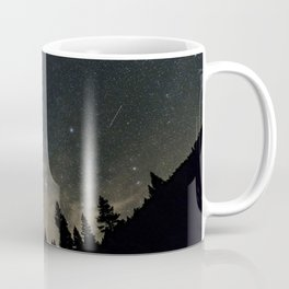 Orionids over Big Sky Coffee Mug