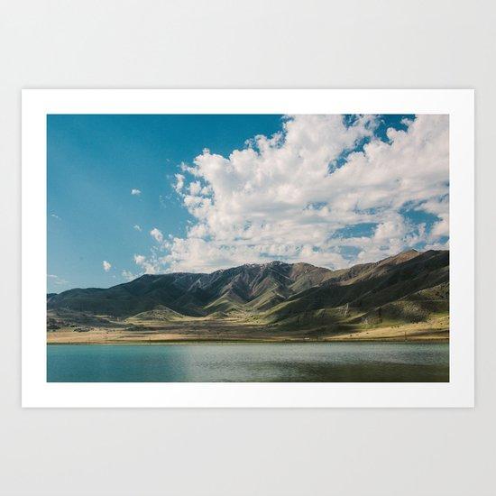 Utah Hills Art Print