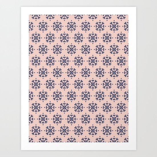 Romantic Azulejos Art Print