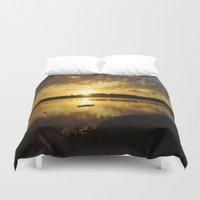 golden Duvet Covers featuring Golden by NaturallyJess