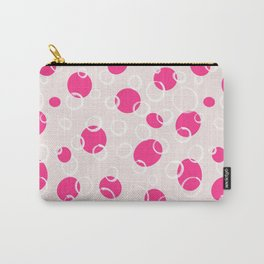 16 Pink Bubbles Carry-All Pouch