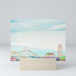 Santa Monica Pier Mini Art Print