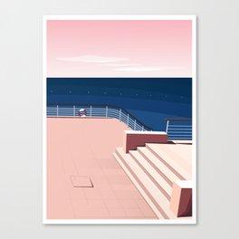 Hôtel du Cap-Eden-Roc à Antibes, la terrasse Canvas Print