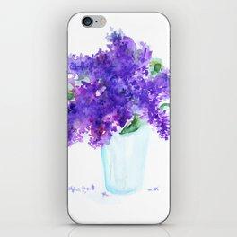 Lilac in a glass iPhone Skin