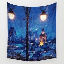 Nightlife Wall Tapestry